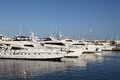 Luxury yachts in Alicante, Spain Royalty Free Stock Photography
