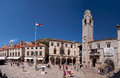 Luza Square  in Dubrovnik Royalty Free Stock Photography