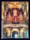 Luzern Church Royalty Free Stock Photo