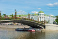 Luzhkov bridge Royalty Free Stock Photo