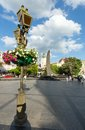 Lviv City scene (Ukraine).  MAY 10, 2012 Stock Photos