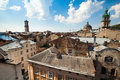 Lviv's roof Royalty Free Stock Image