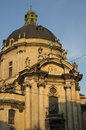 LVIV, Ukraine, Europe - September, 2016: the Dominican cathedral