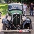 Lviv, Ukraine - June 2015: Auto festival Leopolis grand prix 2015. Old vintage retro car Fiat Royalty Free Stock Photo