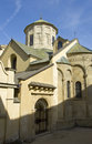 Lvov armenian church detail of orthodox cathedral in town ukraine Royalty Free Stock Photos