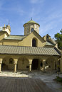 Lvov armenian church part of orthodox in town in ukraine Royalty Free Stock Photos