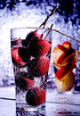 Lychee sparking juice Royalty Free Stock Photo