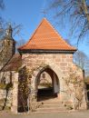 Lychgate Stock Photo
