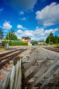 Lydney junction station gloucestershire uk steam railway england Royalty Free Stock Photos