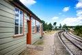 Lydney junction station gloucestershire uk steam railway england Stock Photo