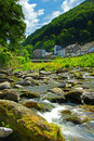 Lynmouth, Devon, England , Exmoor Stock Images