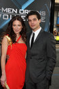 Lynn Collins,Steven Strait Stock Images