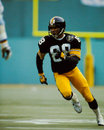 Lynn swann pittsburgh steelers former wr and hall of famer image taken from color slide Royalty Free Stock Photos
