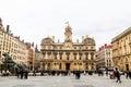 Lyon city hall, Lyon old town, France Royalty Free Stock Photo