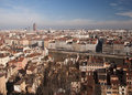 Lyon cityscape - France Royalty Free Stock Photos