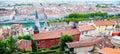 Lyon, rooftops Royalty Free Stock Photo