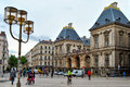 Lyon town hall, France Royalty Free Stock Photo