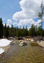 Lyons Creek Desolation Wilderness Royalty Free Stock Photo
