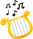Lyre Photo stock