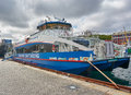 Lysefjord sightseeing boat Royalty Free Stock Photo