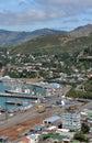 Lyttleton Wharfs, Christchurch New Zealand Royalty Free Stock Photo