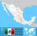 México Map
