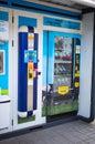 Máquina de la leche Imágenes de archivo libres de regalías