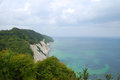 Mã ns klint view from the cliff of chulk denmark Stock Image