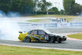 M-150 Drift Competition, Bonanza Racing Circuit Royalty Free Stock Images