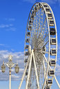 The m diameter big wheel at brighton pier england Royalty Free Stock Image