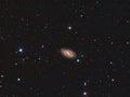 M109 Galaxy Royalty Free Stock Photo