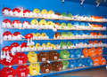 The M&M colourful soft toys Stock Photo