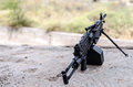 M249 Minimi Light Machine Gun