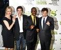 M.Myers; C.Diaz; Eddie Murphy, Antonio Banderas Stock Image