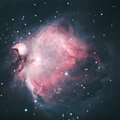 M orion nebula explanation the great in an immense nearby starbirth region is probably the most famous of all astronomical nebulas Stock Images