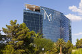 M resort exterior in las vegas nv on august casino is a boutique hotel and casino owned and operated by penn Stock Image