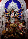 Ma Durga Royalty Free Stock Photo
