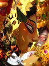 Maa Durga Hindu goddess Stock Photos