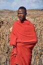 Maasai Man Royalty Free Stock Photo