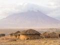 Maasai Vilage In Africa