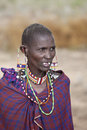 Maasai woman Royalty Free Stock Image