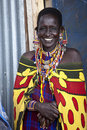 Maasai woman Stock Photo