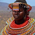 Maasai Woman Stock Images