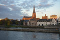 Maastricht the historic city of in limburg the netherlands Royalty Free Stock Photos