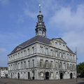 Maastricht town hall building in the market square Royalty Free Stock Photography