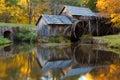 Mabry Mill, Blue Ridge Parkway Royalty Free Stock Photo