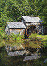 Mabry mill on the parkway maybry in virginia blue ridge Stock Photos