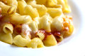Mac and cheese 3 Royalty Free Stock Images