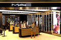 Mac cosmetics outlet at elements shopping mall in hong kong Royalty Free Stock Photos