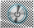 Mac Power Button Royalty Free Stock Photo